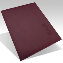 Protège Menu Standard IBIZA A4 - Bordeaux