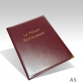 Protège Menu Sur-mesure NEW DELHI A5