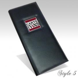 Carte des Vins Style 5 - Noir