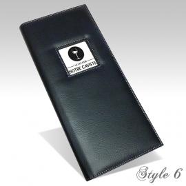 Carte des Vins Style 6 - Noir