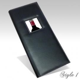 Carte des Vins Style 1 - Noir