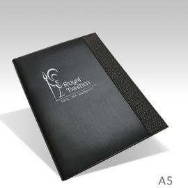 Protège Menu Noir - Sur-mesure PARIS A5