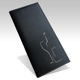 Protège Menu Noir - Standard NEW YORK A4S Esquisse